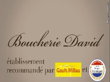 Visuel Boucherie David