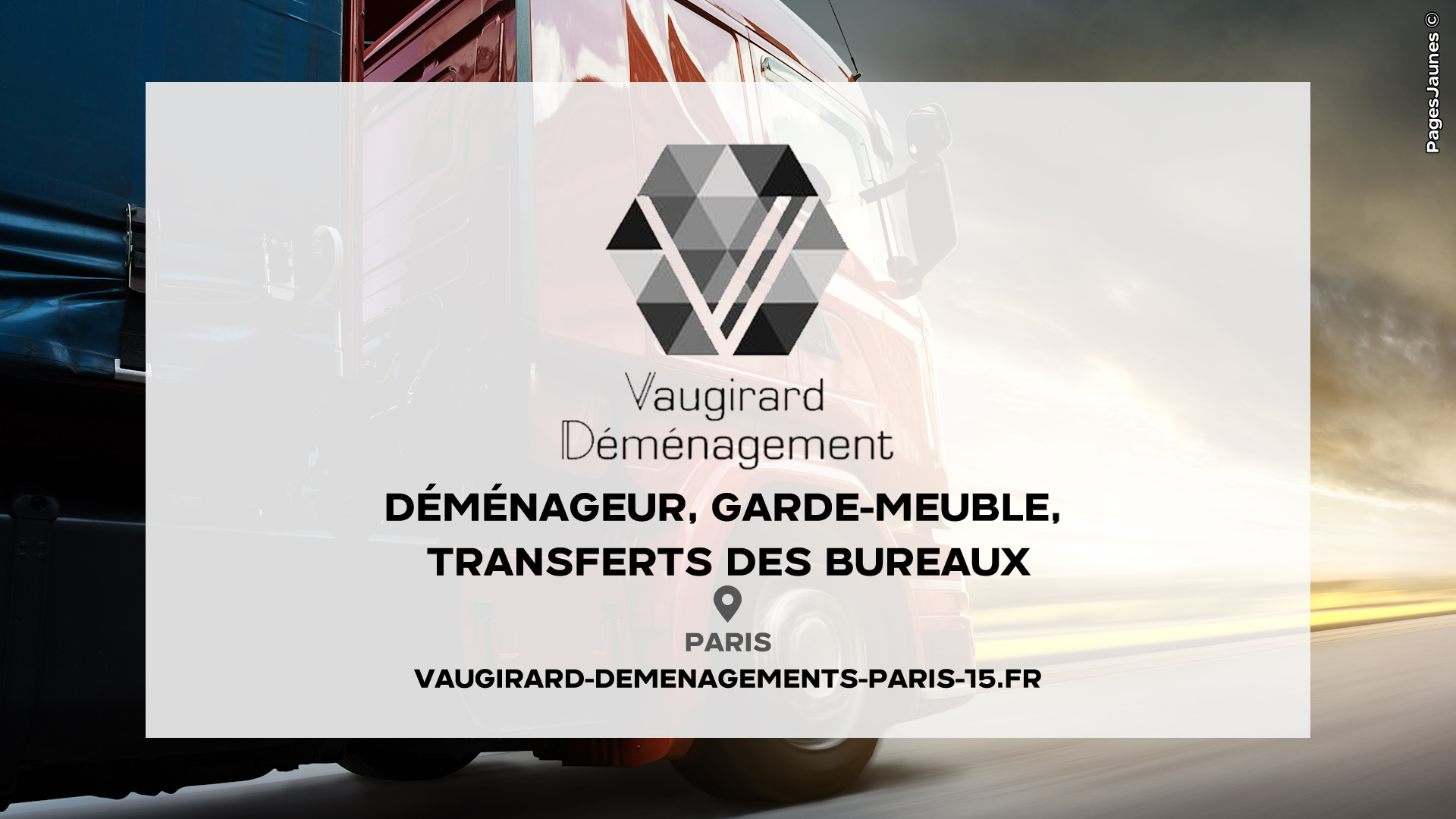 Vaugirard Déménagements - PARIS